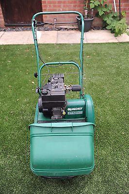 Qualcast Bosch Classic 35s Petrol Push Reel Lawn Mower