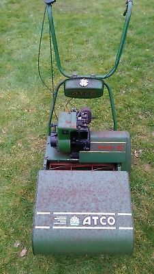 Atco Deluxe B17 Petrol Self Propelled Cylinder Mower